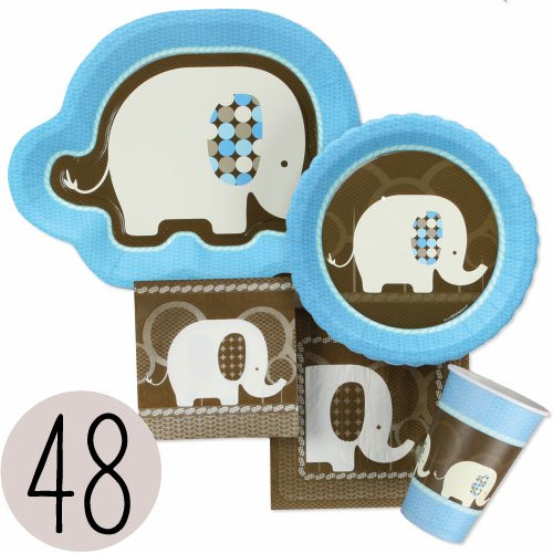 Blue Elephant Party Supplies