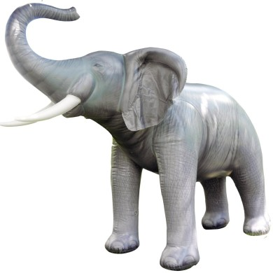 life size inflatable elephant