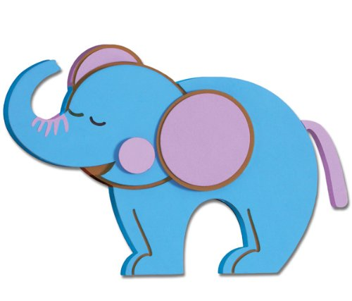Elephant Foam Wall Decal