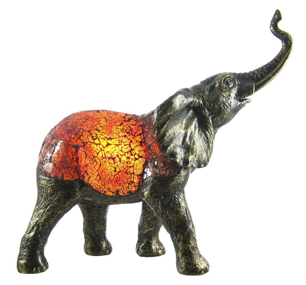 Cool Elephant Shape Accent Lamp