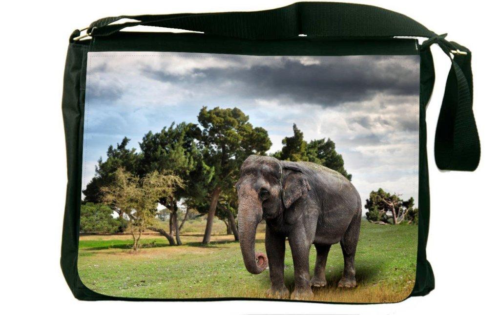 Beautiful Asian Elephant Messenger Bag