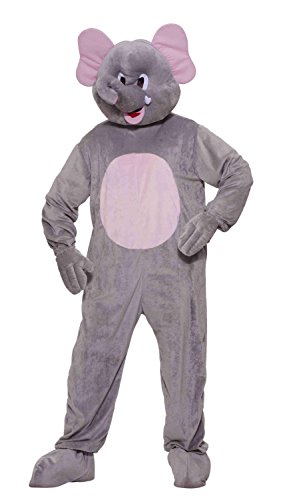 Affordable Elephant Plush Mascot Costume for Men