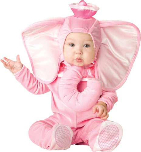 Cute Pink Elephant Costume for Babies