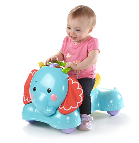 Cute and Colorful Elephant Walker for Babies