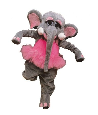 Gorgeous Elephant Mascot Suit for Sale