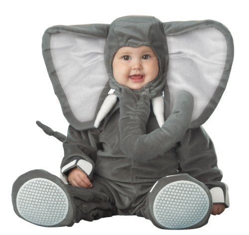 Adorable Infant Elephant Costume
