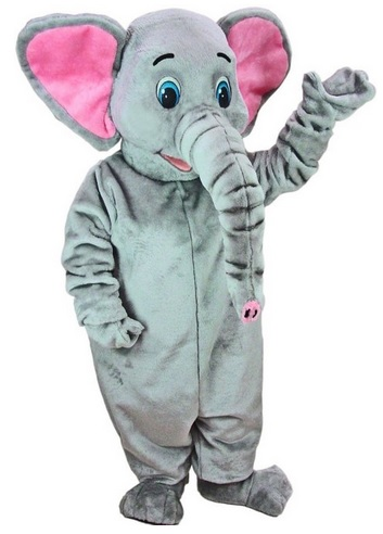 best adult elephant mascot suit