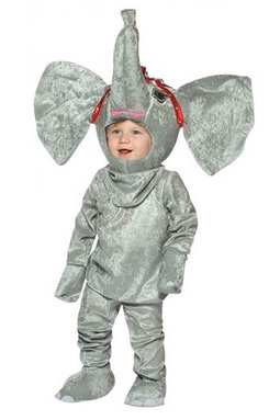 Cutest Circus Elephant Costume for Toddlers