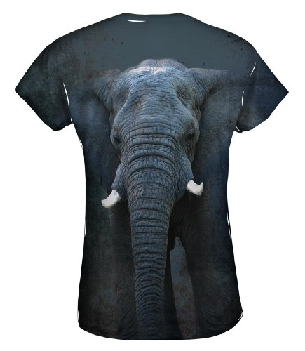 Elephant Face T-Shirt for Women