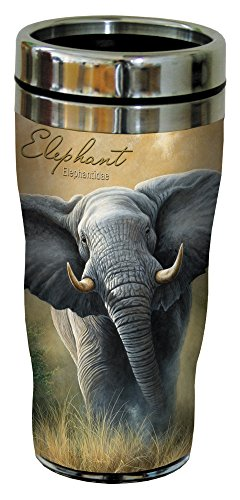 Beautiful Elephant Travel Mug