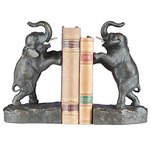 Tall Elephant Bookends