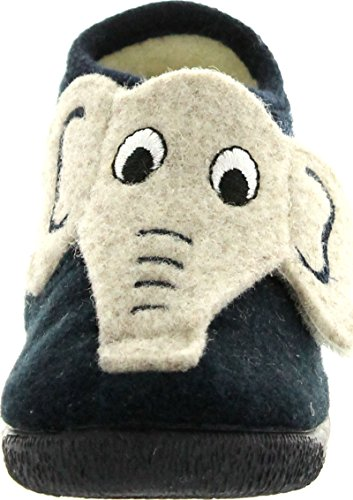 Warm Elephant Slippers for Toddler Boys
