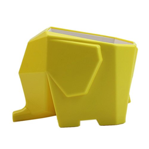 Cute Yellow Elephant Shaped Toothbrush Holder