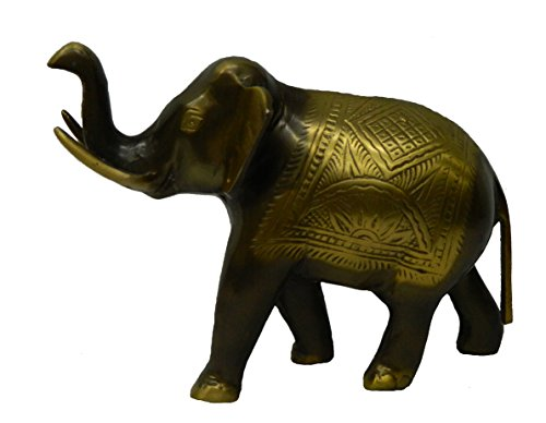 Unique Handmade Brass Elephant