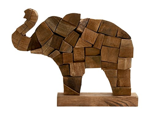 unique wood elephant statues