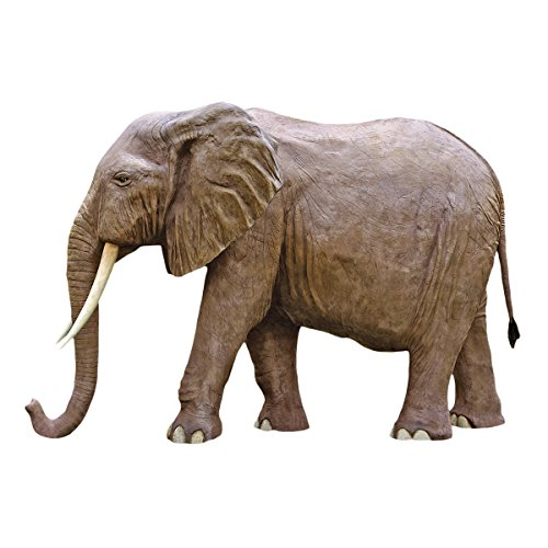 Life Sized African Elephant Replica