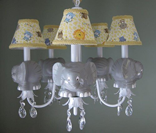 Cute and Fun Elephants Chandelier for Kids