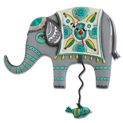 Elephant Clock Allen Studio Designs