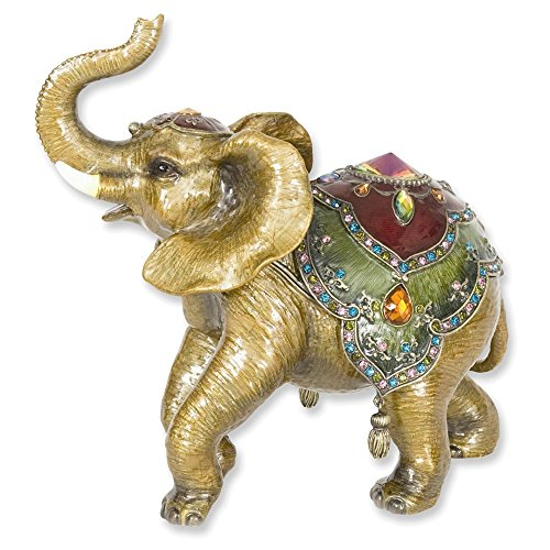 Large Elephant Trinket Box