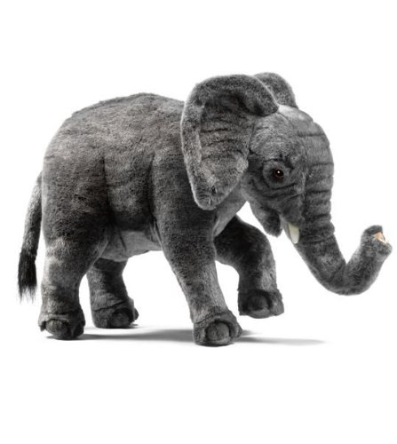 Standing Elephant Plush Toy By Hansa