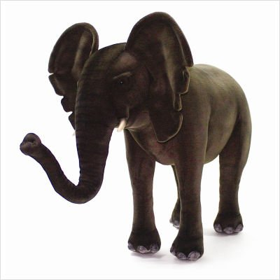 Hansa Elephant Ride-On Plush Stuffed Animal
