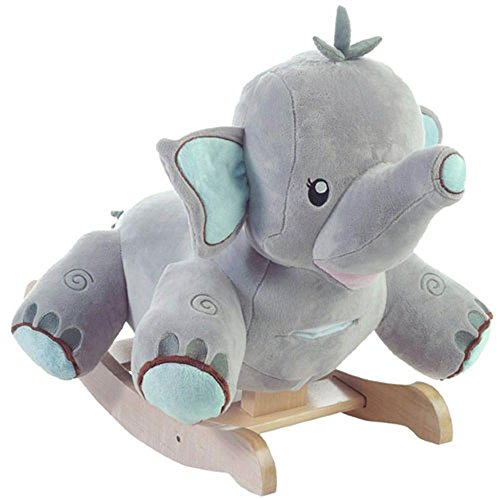 Cute Elephant Plush Rockers