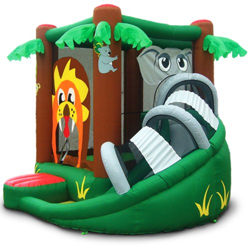 Elephant Bouncer with Slide