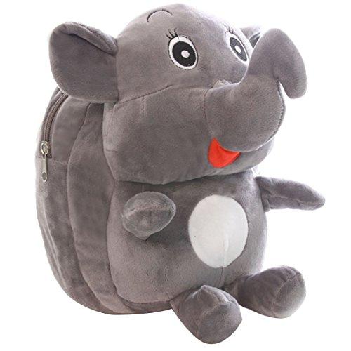 Adorable Elephant Plush Schoolbag
