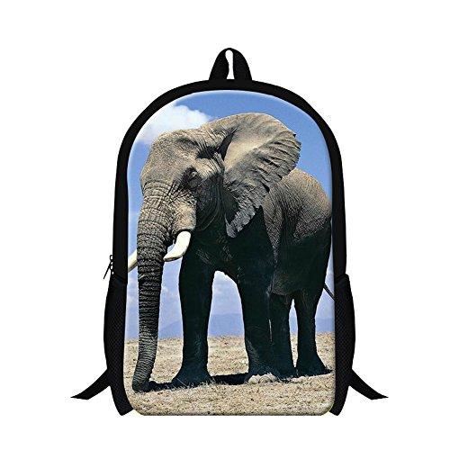 Elephants 3D Design Backpacks