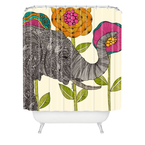 Beautiful Elephant Shower Curtain